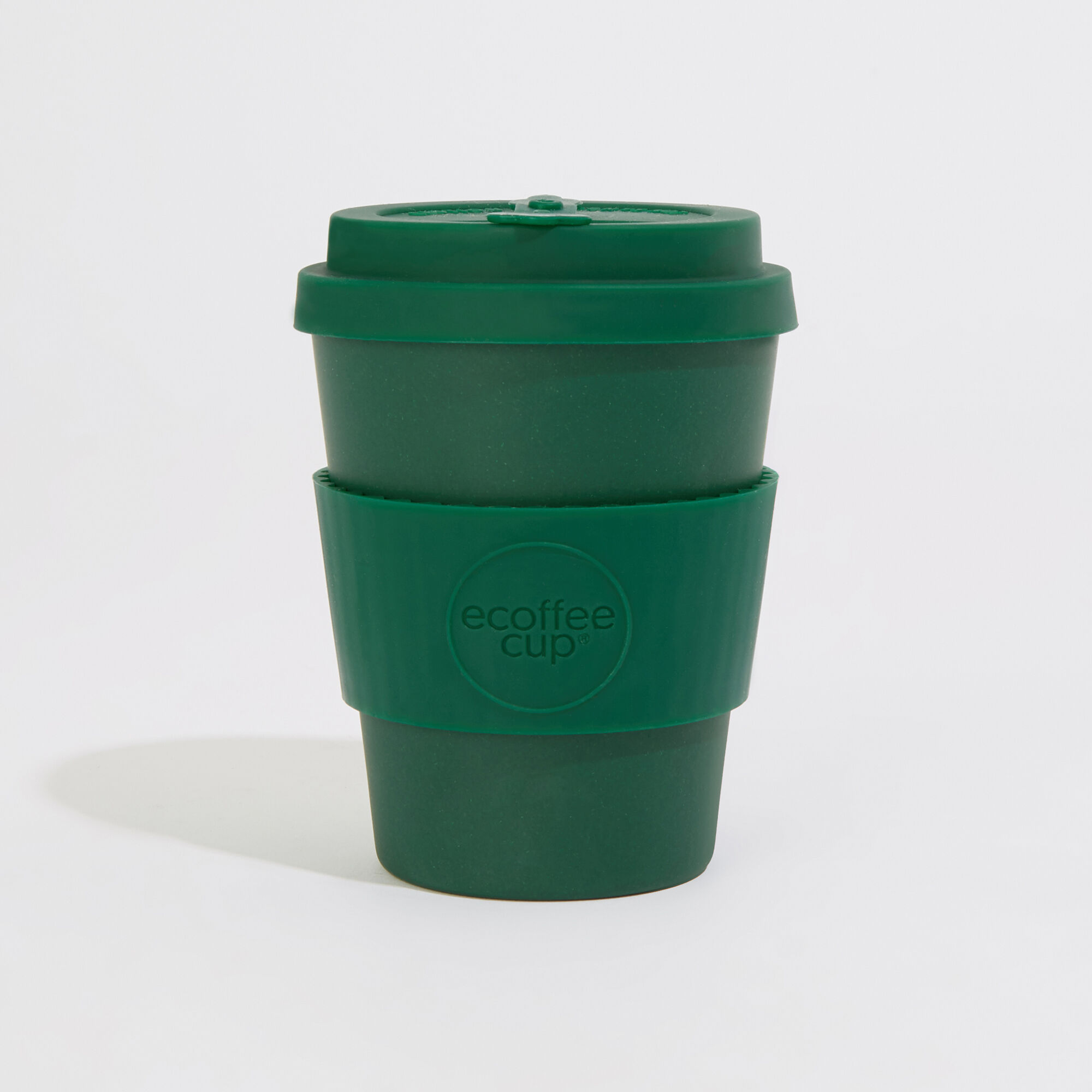 Warehouse, Ecoffee Reusable Coffee Cup Dark Green 1