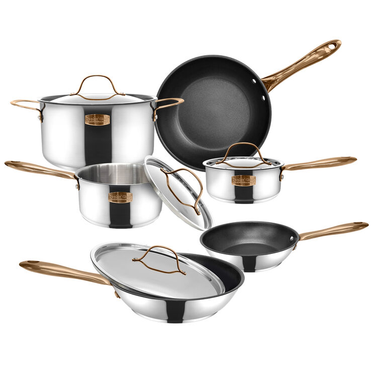 Cookware Set of Pots & Pans