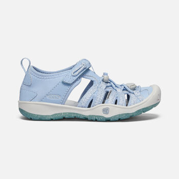Little Kids' MOXIE SANDAL in POWDER BLUE/VAPOR - large view.
