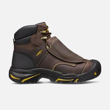 """Men's MT VERNON 6"""" Boot MET (Steel Toe) in Cascade Brown - large view."""