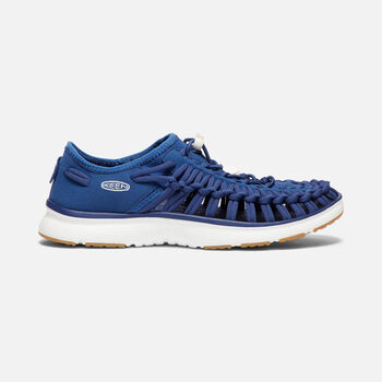 Women's UNEEK O2 in ESTATE BLUE/HARVEST GOLD - large view.