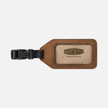 Luggage Tag in Brown - large view.