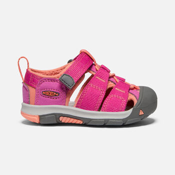 Toddlers' Newport H2 in VERY BERRY/FUSION CORAL - large view.