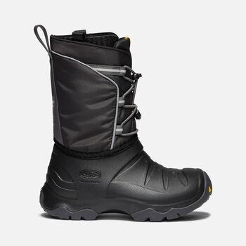 Big Kids' LUMI Waterproof Winter Boot in BLACK/MAGNET - large view.