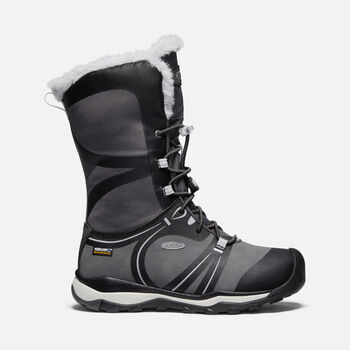 Big Kids' Terradora Winter Waterproof Boot in RAVEN/VAPOR - large view.