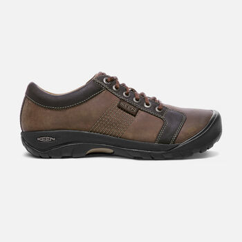 Men's Austin in Chocolate Brown - large view.