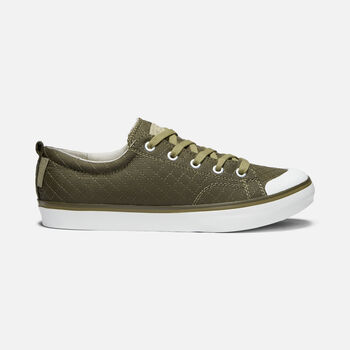 Women's Elsa II Quilted Sneaker in MARTINI OLIVE - large view.