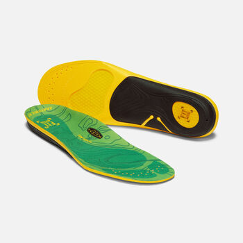 Men's Outdoor K-30 Low Arch Insole in GREEN - large view.