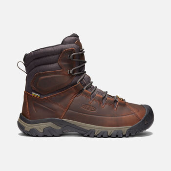 Men's Targhee High Lace Waterproof Boot in COCOA/MULCH - large view.