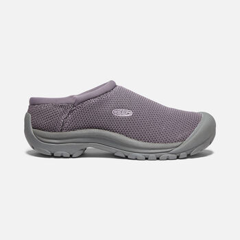 Women's Kaci Mesh Slide in SHARK/LAVENDER GREY - large view.