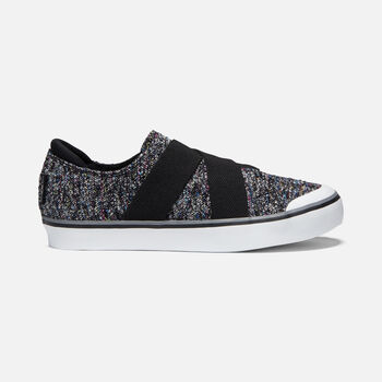 Women's ELSA III GORE SLIP-ON in BLACK MULTI/BLACK - large view.