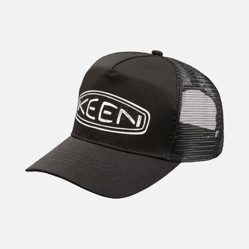 Fellows' Logo Mesh Hat in Black - large view.