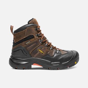 """Men's COBURG 6"""" Waterproof Boot (Steel Toe) in Cascade Brown/Brindle - large view."""