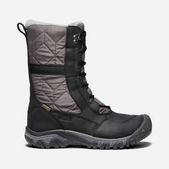 Women's Hoodoo III Tall Boot in BLACK/MAGNET - large view.