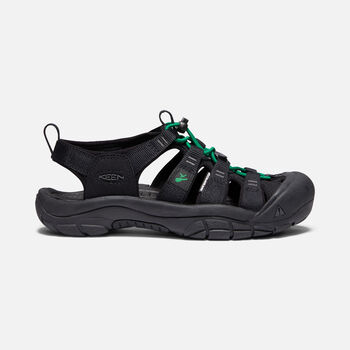 Women's Newport Revival in BLACK/GREEN - large view.