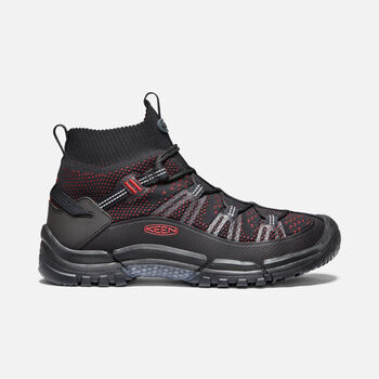 Men's AXIS EVO Mid in BLACK/TANGO RED - large view.