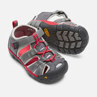 Toddlers' Seacamp II CNX in MAGNET/RACING RED - small view.