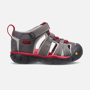 Toddlers' Seacamp II CNX in MAGNET/RACING RED - large view.