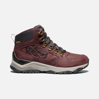 WOMEN'S INNATE LEATHER WATERPROOF LTD BOOT in BURGUNDY/SHARK - large view.