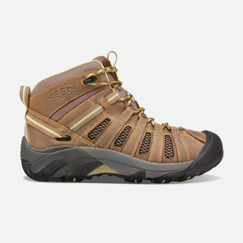 Women's Voyageur Mid in Brindle/Custard - large view.