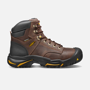 "Men's Mt Vernon 6"" Boot (Steel Toe) in Cascade Brown - large view."