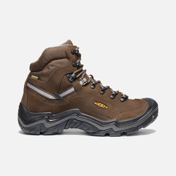 Men's DURAND II MID WP in CASCADE BROWN/GARGOYLE - large view.