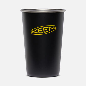 Pint Cup 16oz in MATTE BLACK - large view.