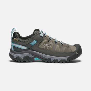 Women's TARGHEE III Waterproof in ALCATRAZ/BLUE TURQUOISE - large view.