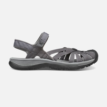 Women's Rose Sandal in MAGNET/GARGOYLE - large view.