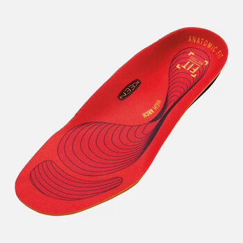 Men's UTILITY K-30 High Arch Insole in Red - large view.