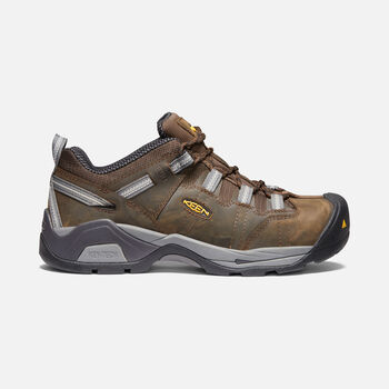 Men's Detroit XT ESD (Steel Toe) in CASCADE BROWN/GARGOYLE - large view.