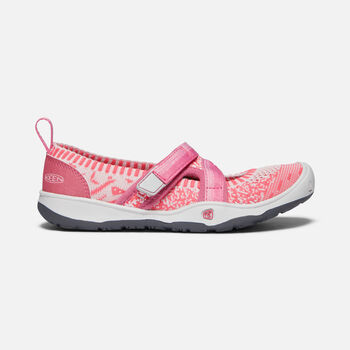 Big Kids' MOXIE SPORT MJ in RAPTURE ROSE/POWDER PINK - large view.