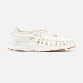 Women's UNEEK O2 LTD in White/Harvest Gold - large view.