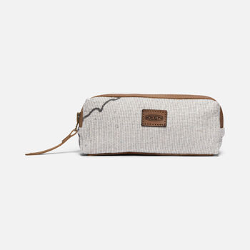 Harvest Coffee Pen Case in GREY - large view.