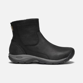 Women's Presidio II Waterproof Zip Boot in BLACK/MAGNET - large view.