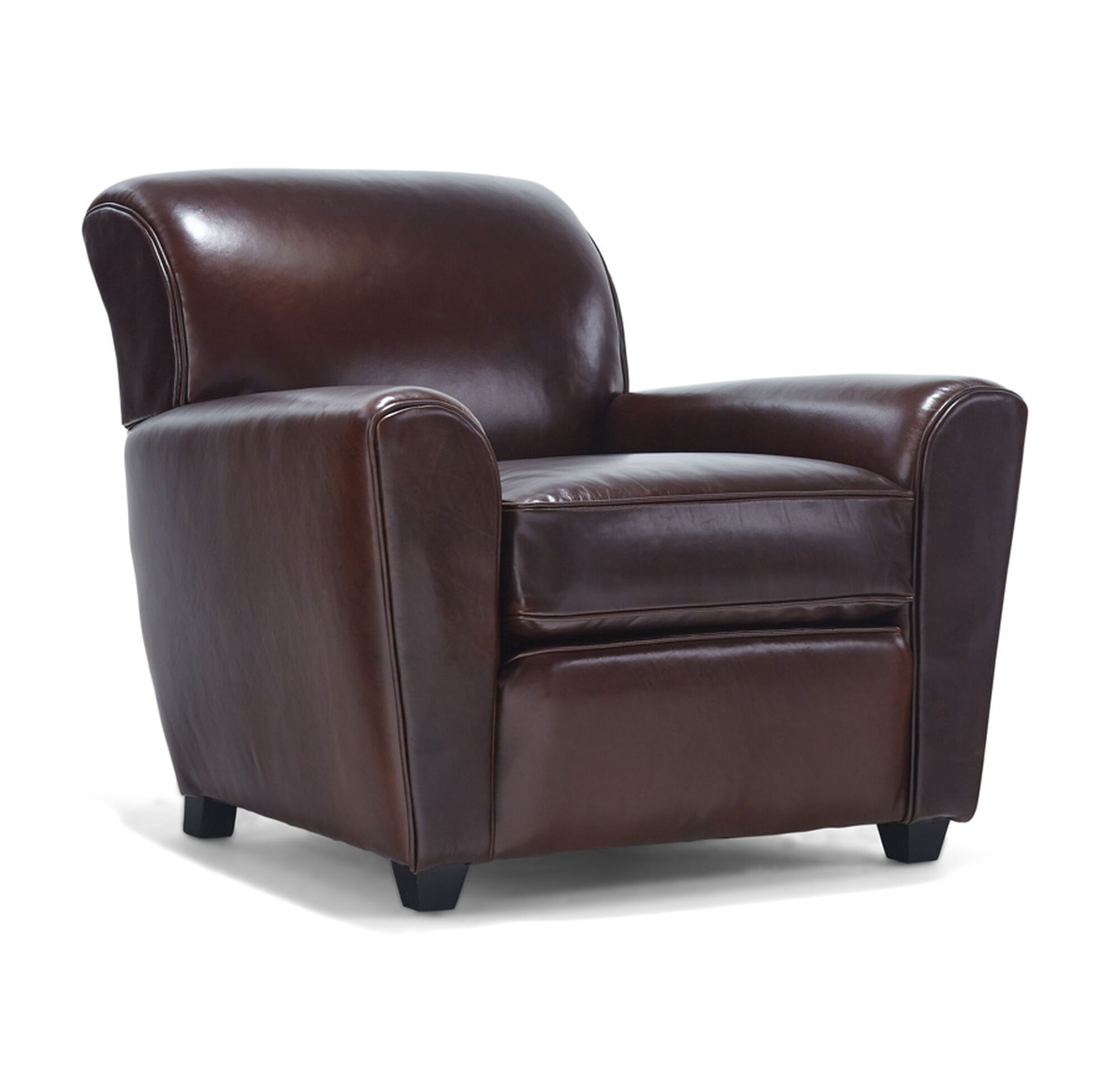 Fine Louie Leather Chair Mitchell Gold Bob Williams Ibusinesslaw Wood Chair Design Ideas Ibusinesslaworg