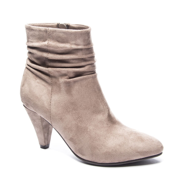 Chinese Laundry Nanda Boots in Pebble Taupe