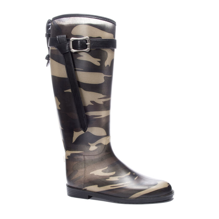 Chinese Laundry Rise Up Boots in Camouflage