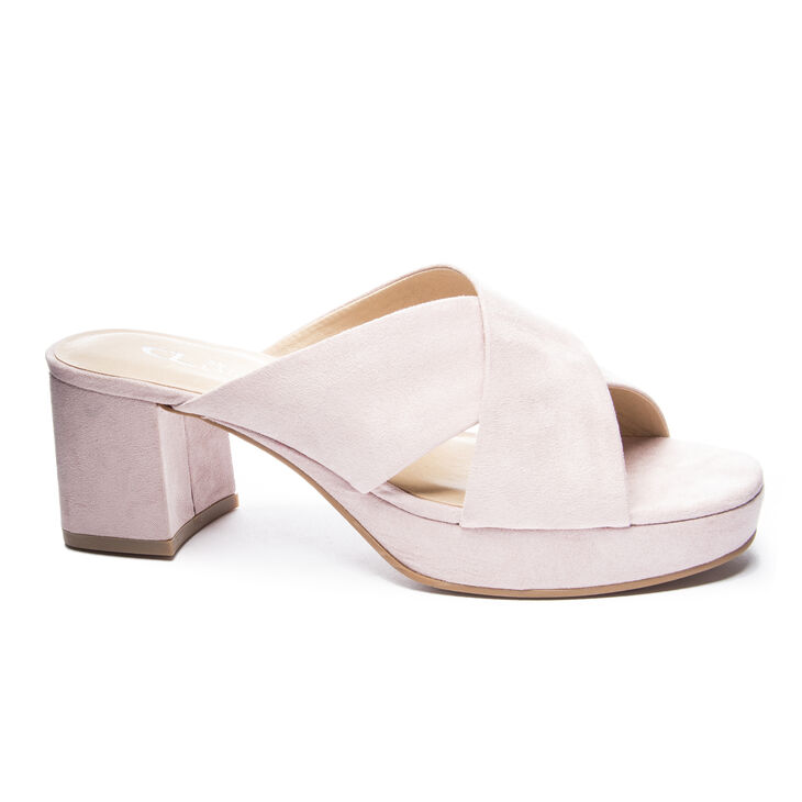 Chinese Laundry Kismet Block Heels Pink