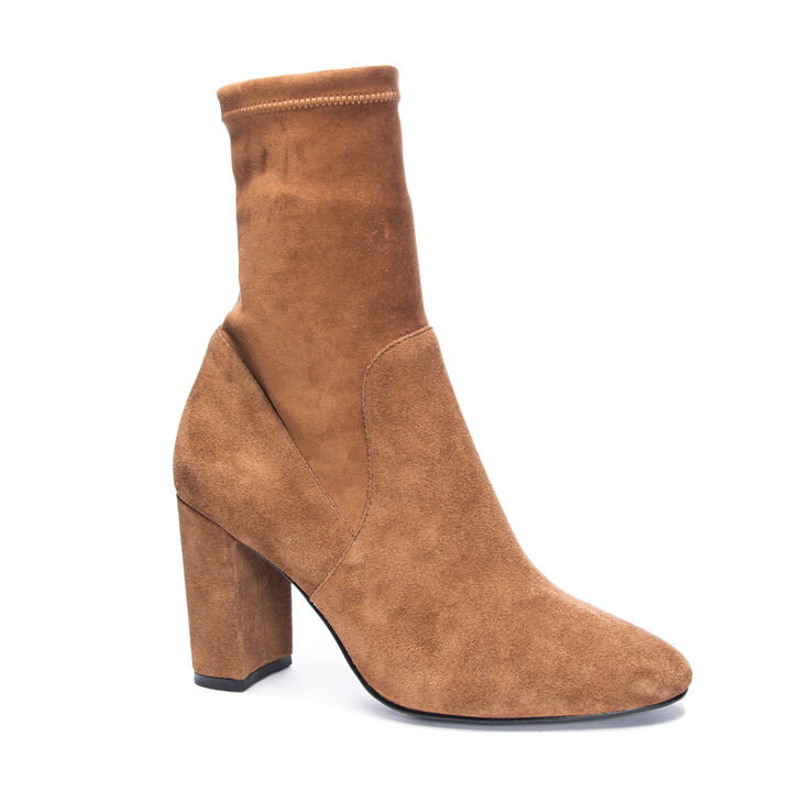 Chinese Laundry Kayla Boots in Cognac