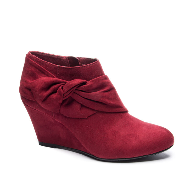 Chinese Laundry Viveca Boots in Cherry Red