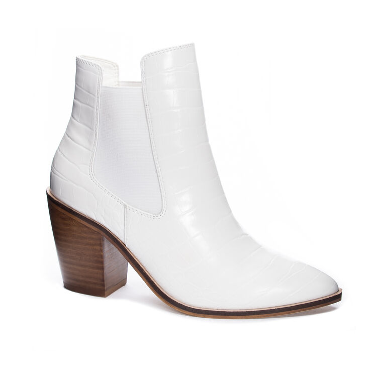 Chinese Laundry Utah Boots in White