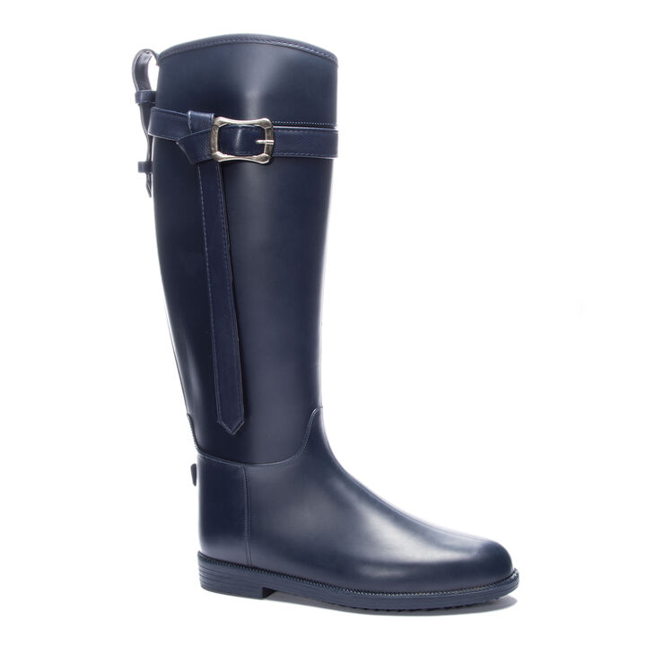 Chinese Laundry Rise Up Boots in Navy