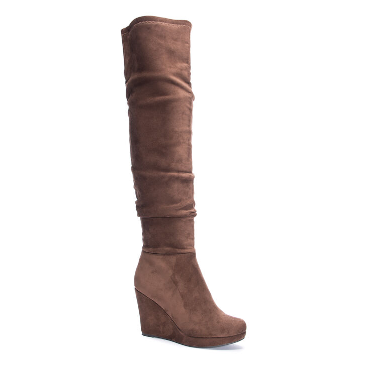 Chinese Laundry Larisa Boots in Oakbrown