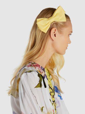 Emilia Wickstead - Cotton Maille Bow Hair Clip