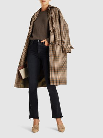 Baum und Pferdgarten - Darri Checked Stretch-Cotton Coat