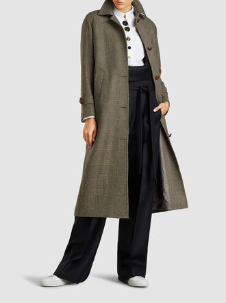 Giuliva Heritage Collection - Maria Check Wool Coat