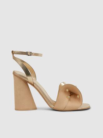 MERCEDES CASTILLO - Tila Flower Strap High Heel Sandals