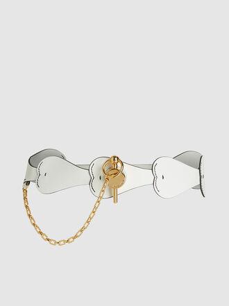 JW Anderson - Heart Leather Corset Belt