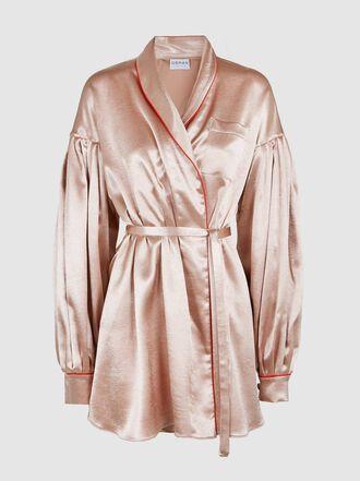 Osman - Merine Satin Wrap Jacket
